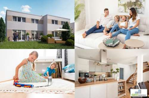Traumhafte Doppelhaushälfte mit Top-Ausstattung in Grünruhelage Top A2 - schlüsselfertig & provisionsfrei - ab € 629,- mtl.