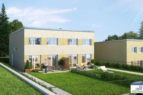 Wunderschöne Doppelhaushälfte in Passivbauweise mit 117m² zum Mieten ODER zum Kaufen in Stockern - Top A2