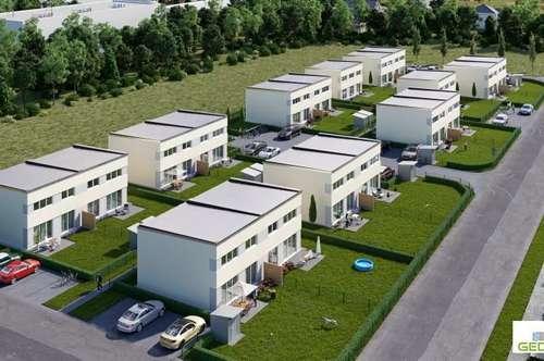Wunderschöne Doppelhaushälfte in Passivbauweise in sofortigem Eigentum Top H1 - schlüsselfertig und provisionsfrei