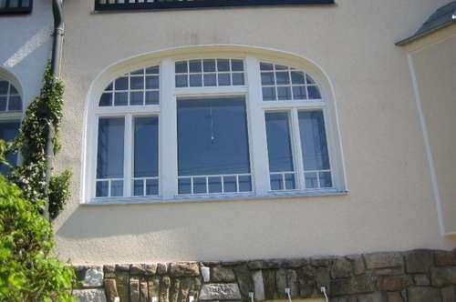 Villenhälfte mit eigenem Eingang und großer Terrasse, Bestzustand mit grünem Fernblick,