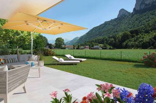 Neue 53m² Gartenwohnung in Rif/Hallein-Au!