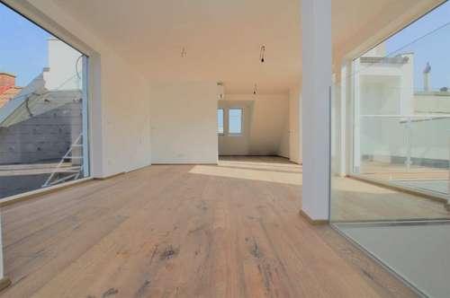 Wunderschöne DG Wohnung + eigener LIFTZUGANG + 5 TERRASSEN