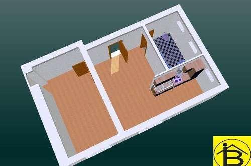 13094 - 2 Zimmer, 42 m² Wfl, Parkplatz