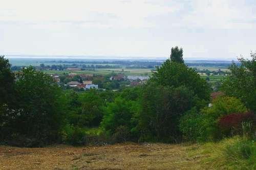 Baugrund mit traumhaftem Neusiedlersee-Blick!!