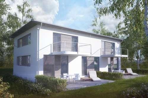 Moderne Doppelhaushälfte mit traumhaftem Weitblick!