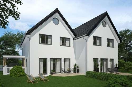 Neubau Doppelhaushälfte mit großem sonnigem Garten
