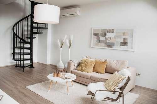 Erstbezug nach Sanierung: Sonnige 4-Zimmer-Maisonette