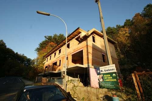 Rohbau auf 3 Ebenen incl. Dach am Waldesrand mit Balkon und Terrasse, Garten