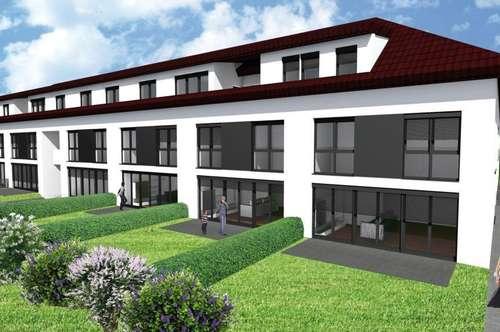 Mietwohnung inkl. Einbauküche mit Terrasse, Loggia und Garten - ERSTBEZUG