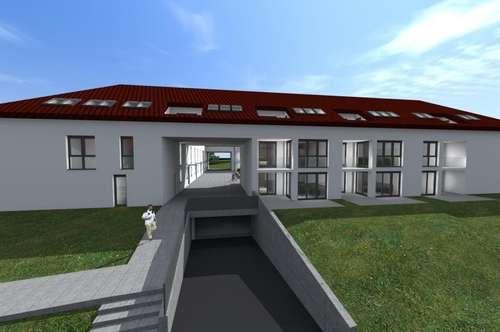 Maisonette-Wohnung mit Terrasse und Garten