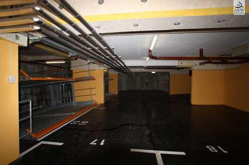Zentrale Garagenplätze in der Haymerlegasse 9