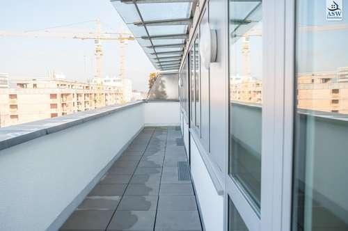Moderne Dachgeschoßwohnung mit Balkon und Terrasse, Nähe Bulgariplatz. ERSTBEZUG! REDUZIERTER PREIS!