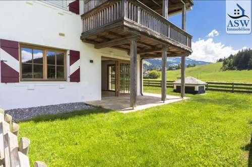 Wunderschöne, sehr zentrale 3-Zimmerwohnung mit Garten in Kirchberg