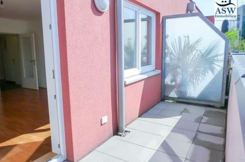 Toll aufgeteilte, elegante 2-Zimmer-Wohnung mit sonniger Terrasse