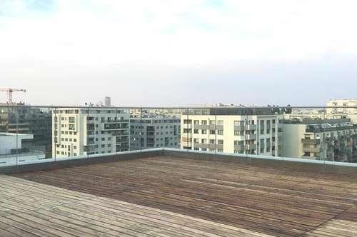 Terrassenwohnung mit Rooftop Pool- Nähe Donauzentrum!