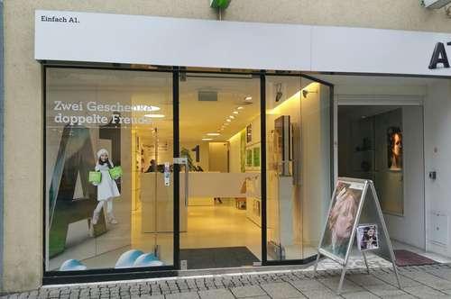 Geschäftslokal in bester Lage von Bregenz - derzeit A1 Shop
