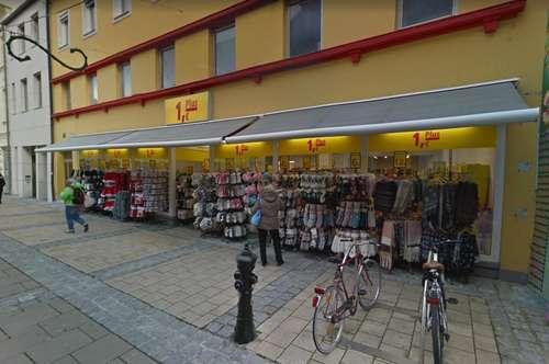 Große Geschäftseinheit im Zentrum von St. Pölten - derzeit 1,- Euro Plus