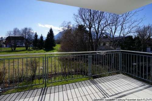 Besonders ruhig - 2 Zimmer-Balkonwohnung direkt am Grünland Salzburg Süd - Gneis