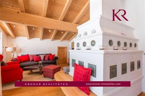 Traumhafte 3-Zimmer-Dachgeschosswohnung in Fieberbrunn zu vermieten