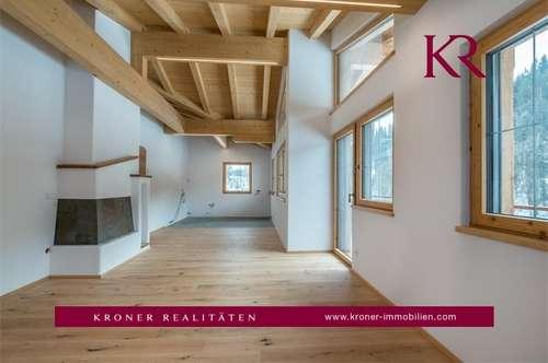 Exklusive 3-Zimmer-Dachgeschosswohnung in Fieberbrunn zu vermieten