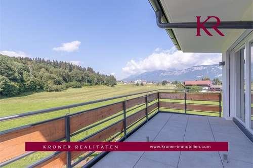 Erstbezug: Exklusive 3 Zimmer Wohnung mit Balkon in St. Johann zu vermieten
