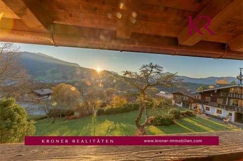 Charmante Dachgeschosswohnung in bester Lage von Kitzbühel zu vermieten