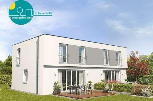 """Top-Moderne Doppelhaushälfte am Eisberg mit KELLER und GRUND """"Energieklasse A++"""""""