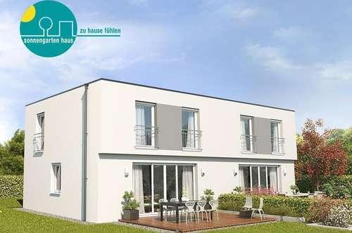 """Top-Moderne Doppelhaushälfte """"Energieklasse A++"""" mit Keller und Sonnengarten"""