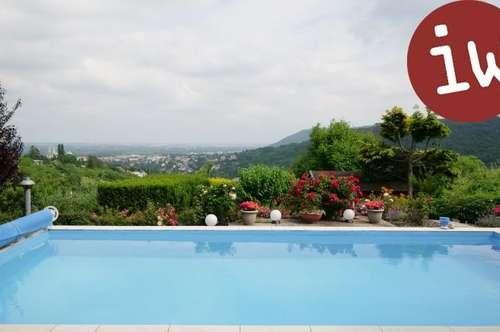 Klassische Villa, exzellente Lage, sensationelle Fernsicht