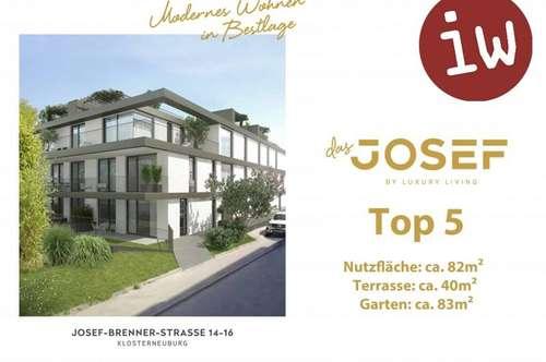 """""""Das Josef"""" TOP 5 Wohnung mit Garten"""