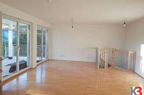 K3! SBG Aigen: Sonnige Garten-Wohnung mit Balkon und Terrasse zum Kaufen!