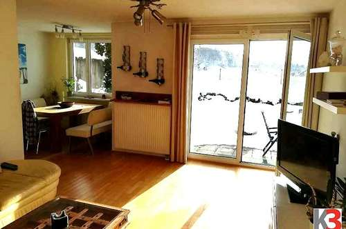 Puch: Sonnige 4 Zi-Gartenwohnung mit Terrasse zu verkaufen!