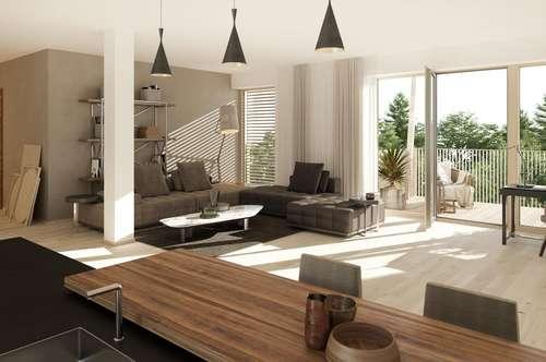 Neues LOFT als 3-Zimmer-Wohnung im Trumer Seengebiet