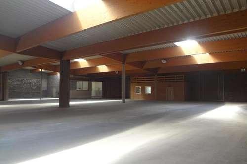 Lagerhallenfäche mit 200 - 1.920 m² Nutzfläche