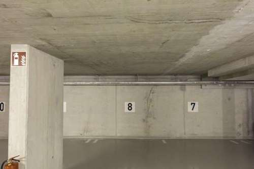 Tiefgaragenstellplatz im alten Ortskern von Vösendorf zu vermieten!