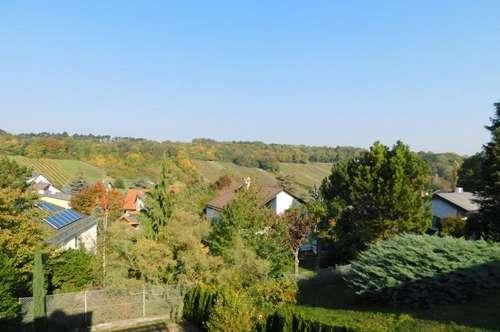Begehrte Wohnlage - Ruhe und Blick in die Weinberge