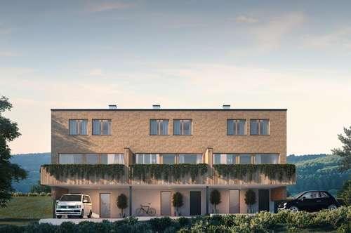 Reihenhhaus mit Panoramablick