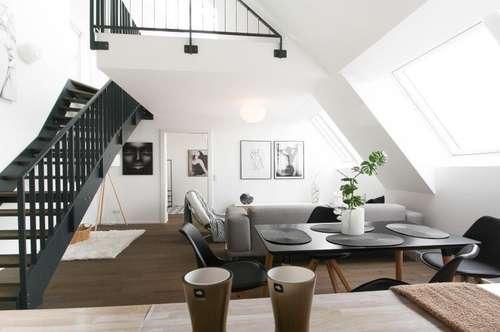 KAUFANBOT ANGENOMMEN: Traumhafte Dachgeschoss-Wohnung mit bester Infrastruktur im revitalisierten Altbau - NEUBAU ERSTBEZUG