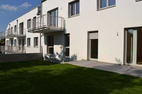 ERFOLGREICH VERKAUFT! Neubau Erstbezug! 4-Zimmer-Wohnung mit Eigengarten in ruhiger und grüner Lage!