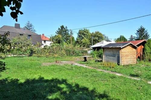 Der erste Schritt zum Eigenheim, Sonniges Kleingartengrundstück mit guter Infrastruktur!