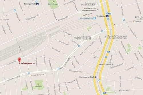 Garagenplatz in 1150 Lehnergasse Nähe Mariahilfer Str./Schwendermarkt
