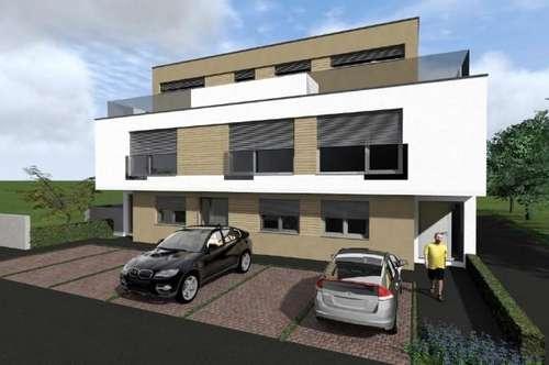 PURKERSDORF NIEDRIGENERGIEHAUS NFL 226 m² mit Garten, Gartenterrasse, Balkon, Dachterrasse, 2 PKW-Plätze, Luftwärmepumpe, Fußbodenheizung