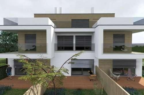 PURKERSDORF NIEDRIGENERGIEHAUS NFL 256 m² mit 47 m² Dachterrasse, Garten, Gartenterrasse, Balkon, 2 PKW-Plätze, Luftwärmepumpe, Fußbodenheizung