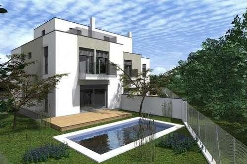 Eigengarten mit Swimmingpool und Terrasse - NFL 232 m² mit 8 Räume + Dachterrasse + 2 Balkone!