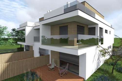 47 m² Dachterrasse! NFL 256 m² auf 3 Etagen / Garten mit Terrasse / Balkon / 2 PKW-Plätze