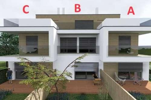NUR € 1.856,-/m² NFL 6 Zimmer + 4(!) Badezimmer, 2 Balkone, 2 Terrassen, Garten, 2 KFZ-Plätze