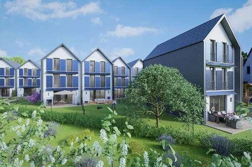 11 Neubau Passiv-Reihenhäuser in der Harlander Au - Provisionsfrei direkt vom Bauträger