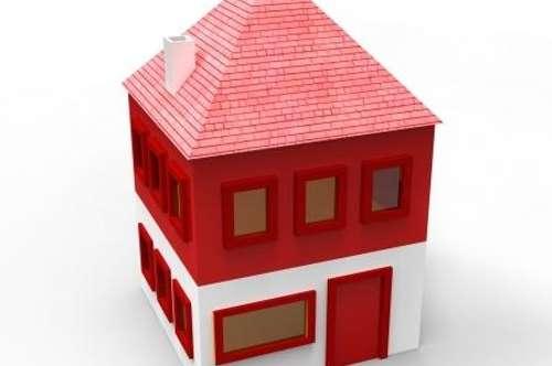 Appartementgebäude mit Geschäftslokal mit 1.020 qm Grund