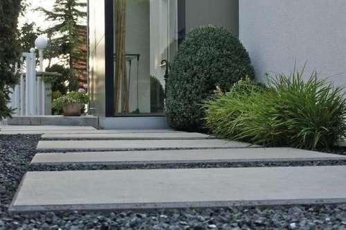 Familientraum - Architektenhaus mit schönem Garten am Bisamberg
