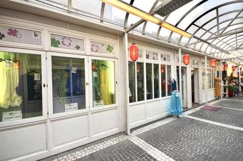 Geschäftslokal in Passage auf der Mariahilferstraße